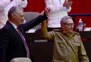 Miguel Díaz-Canel ist der neue Erste Sekretär der Kommunistischen Partei Kubas