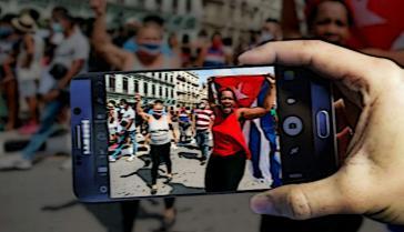 Am 11. Juli gab es in mehreren kubanischen Städten teils gewaltsame Proteste gegen die Regierung