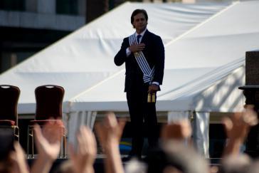Will für Uruguay Handelsabkommen abschließen, aber ohne die anderen Mercosur-Staaten: Präsident Luis Lacalle Pou