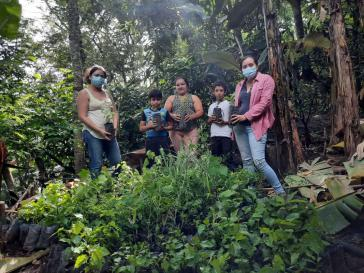 Aktivist:innen des Movimiento Comunal Nicaragüense / Esquipulas