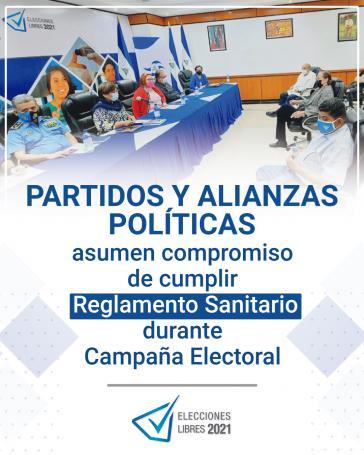 Parteien, CSE und Gesundheitsministerin haben sich auf Corona-Regeln für den Wahlkampf geeinigt