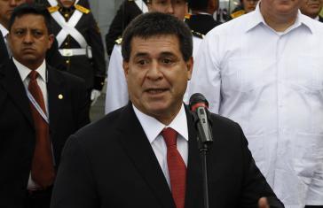 Einer der größten Grundbesitzer Paraguays: Der Unternehmer und Ex-Präsident Cartes