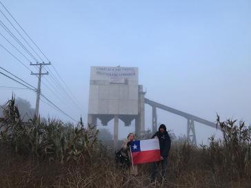 Protestierende besetzen Industrieareal in Padre Hurtado, um auf politische Gefangene aufmerksam zu machen