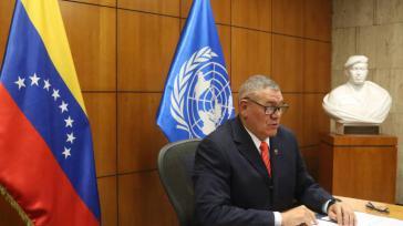 Ernährungsminister Leal beklagte vor der FAO die Auswirkungen der Sanktionen auf die Lebensmittelimporte