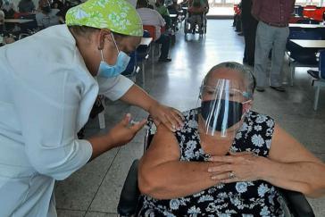 Bislang ist Venezuela wegen der US-Sanktionen auf die Impfstoffe aus China und Russland angewiesen. Das könnte sich nun ändern