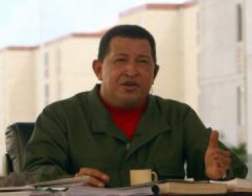 Chávez sieht Venezuela im Fadenkreuz