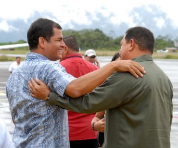 Venezuela hilft Ecuador
