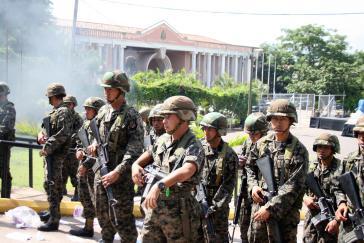 Chaos in Tegucigalpa