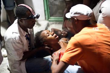 Spenden für kubanische Ärzte in Haiti