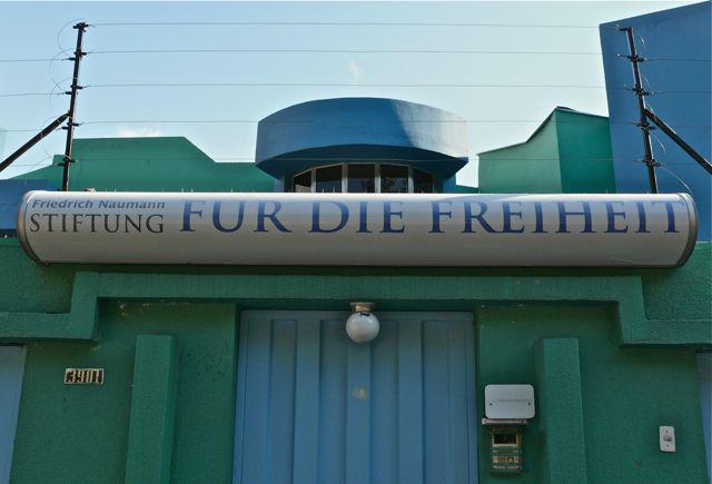 Sitz der Friedrich-Naumann-Stiftung in Tegucigalpa, Honduras