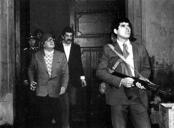Das berühmte letzte Foto Salvador Allendes