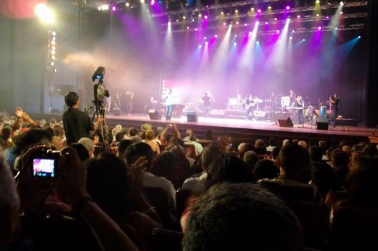 Zum Geburtstag Fidel Castros wurde ein Großkonzert in Havanna organisiert.