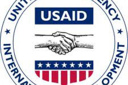 Spionage statt Hilfe - Logo der USAID