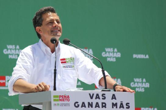 Gewinner Peña Nieto