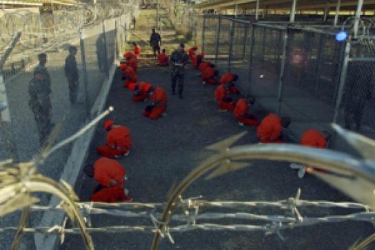 Gefangene auf der Guantánamo-Basis