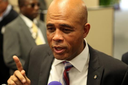 Haitis Präsident Michel Martelly