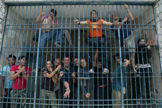 Haftanstalt in Mittelamerika
