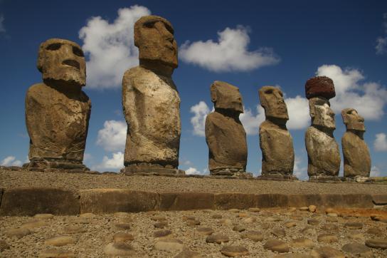Moai-Statuen auf Rapa Nui