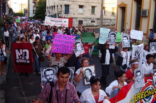 Marsch für Menschenrechte, Asunción (2012)