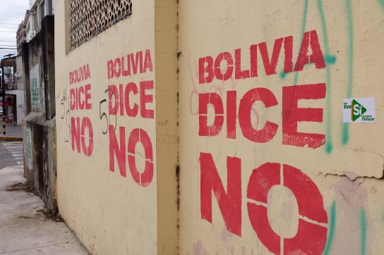 Bolivien sagt Nein