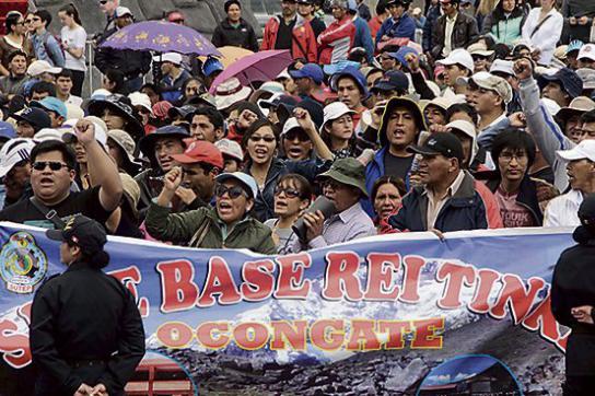 Lehrerstreik Peru