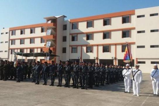 Die 2011 gegründete Akademie für Verteidigung und Souveränität in Bolivien