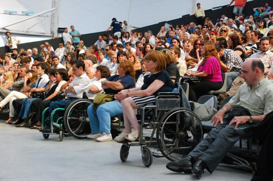 Tagung zur Behindertenpolitik in Argentinien im Jahr 2012