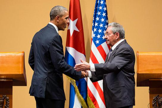 Barack Obama und Raúl Castro, hier im März 2016 in Havanna, Kuba