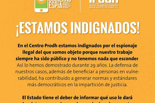 """""""Wir sind empört!"""" – Reaktion der Menschenrechtsgruppe CentroProdh in Mexiko"""