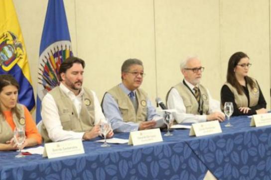 Wahlbeobachter der OAS in Ecuador