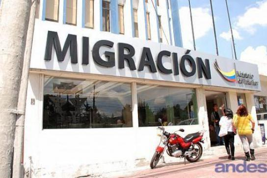 Einwanderungsbehörde in Ecuador