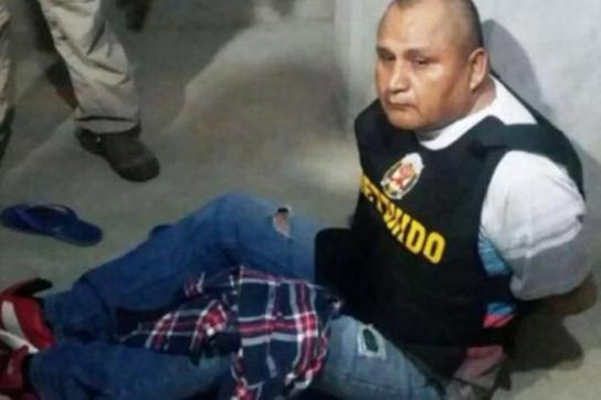 Einer der Chefs der Bande in Peru