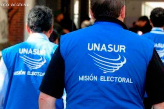 Wahlbeobachter der Unasur (Archivbild). die Organisation wird auch in Ecuador an