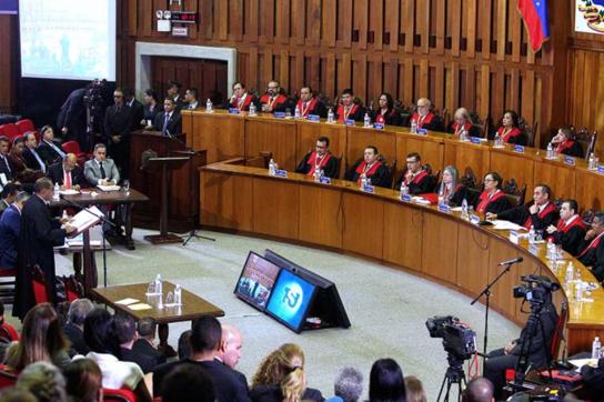 Anhörung des Obersten Gerichtshofes in Venezuela zum Fall Ortega Díaz