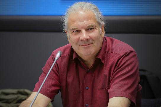 Der Bundestagsabgeordnete Andrej Hunko