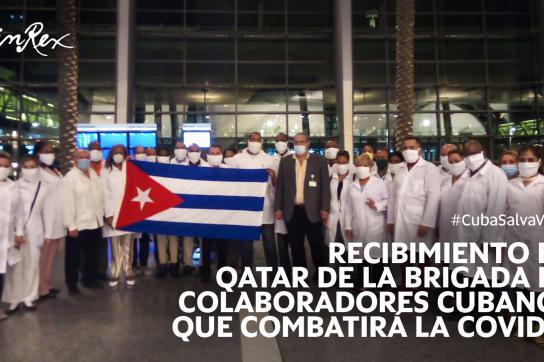 Medizinische Delegation aus Kuba erreicht Katar