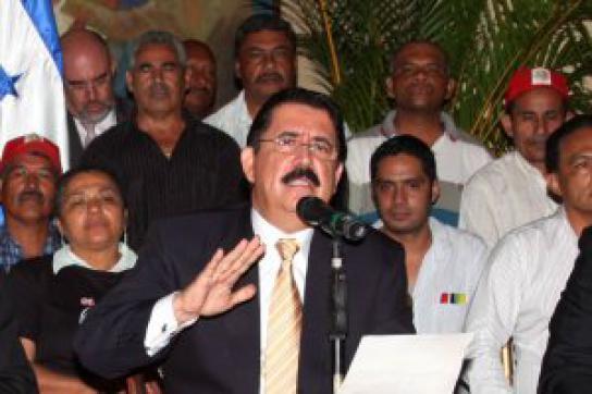 Zelaya zurück in Honduras